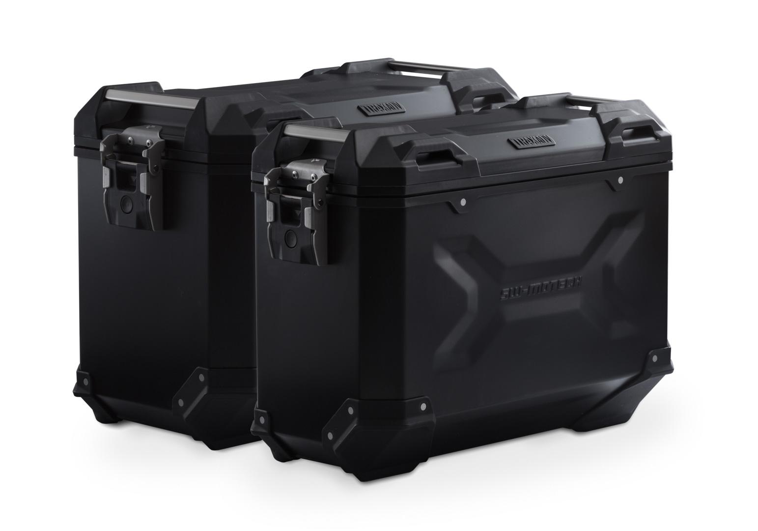 Sistema de maletas TRAX ADV Negro 45/37 l R1200GS LC/Adv/Rallye, R1250GS  motónity